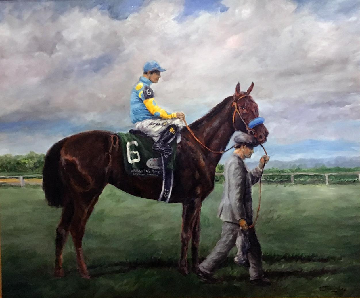 American Pharaoh I - Patrick Cunningham - Legacy Fine Art Gallery