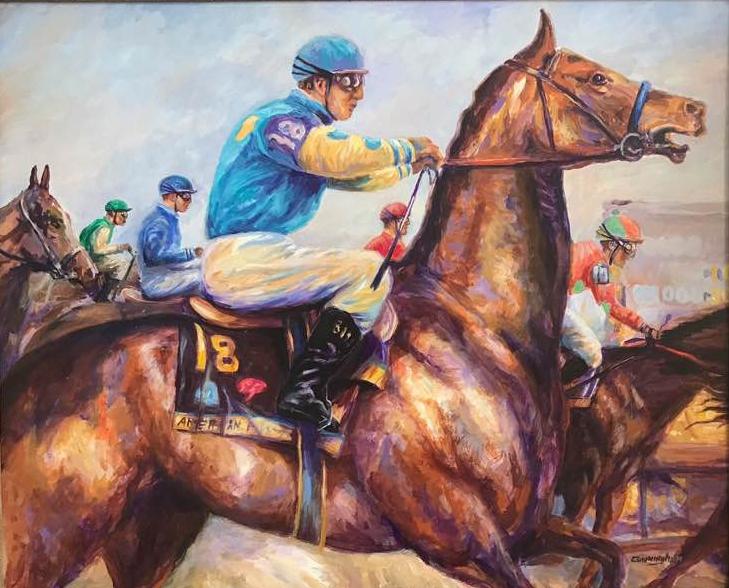 American Pharaoh II - Patrick Cunningham - Legacy Fine Art Gallery