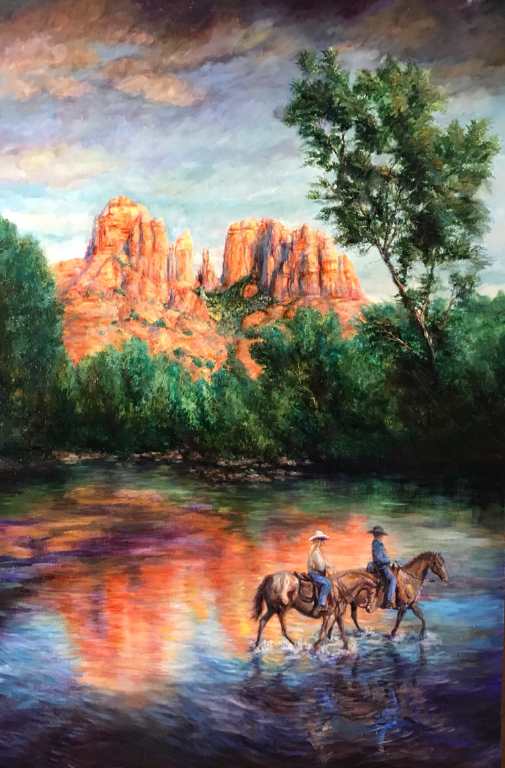 Cathedral Rock, Sedona - Patrick Cunningham - Legacy Fine Art Gallery