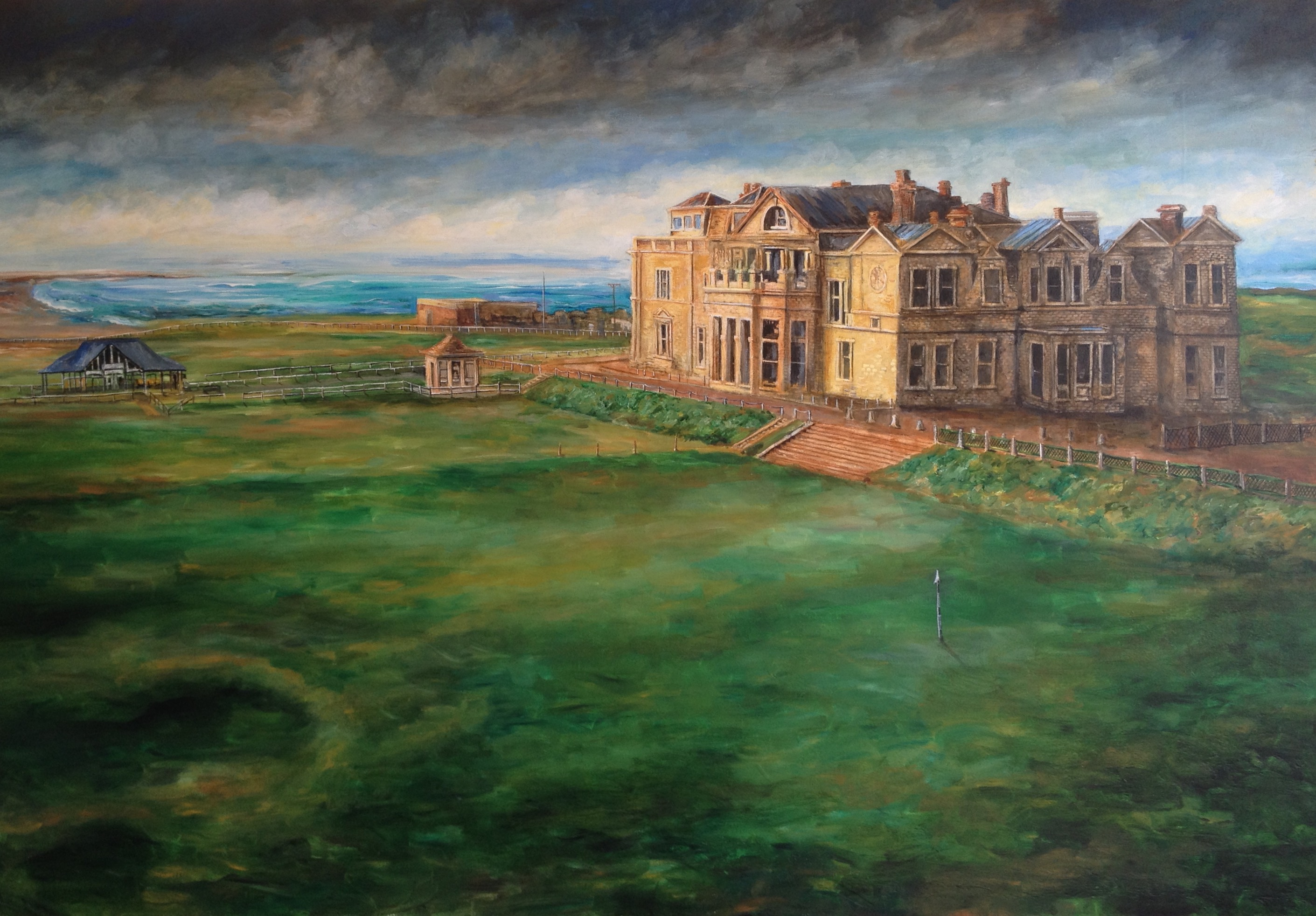 St. Andrews Golf Course - Patrick Cunningham - Legacy Fine Art Gallery