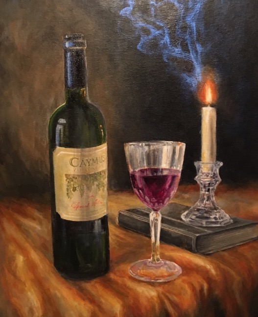 Caymus by Candlelight - Patrick Cunningham - Legacy Fine Art Gallery