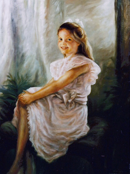 Christie, Portrait by Patrick Cunningham - Legacy Fine Art Gallery