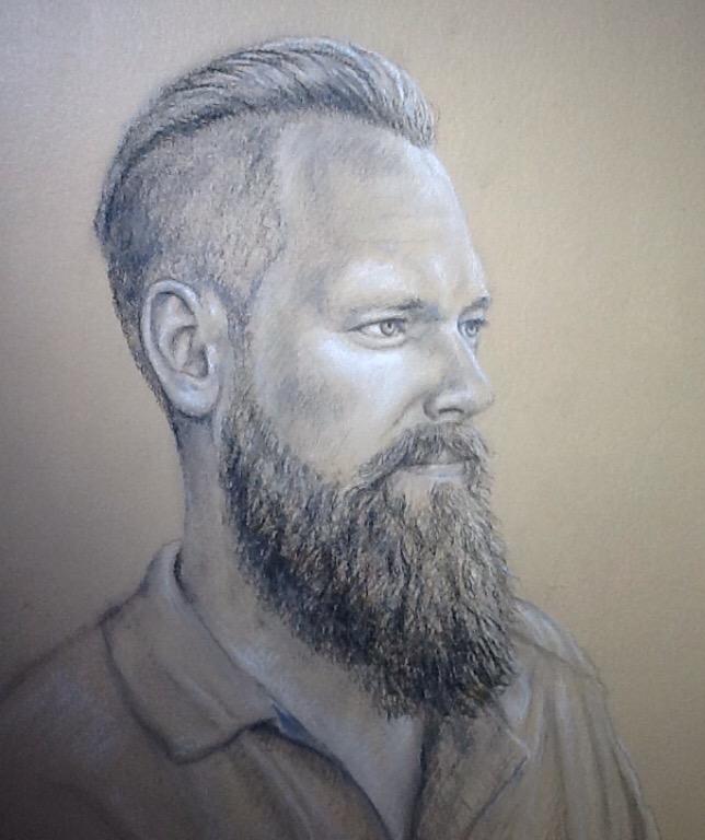 Sketch for Tab sculpture - Patrick Cunningham - Legacy Fine Art Gallery