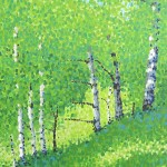 """Aspen Hillside"" by Jim Pescott"